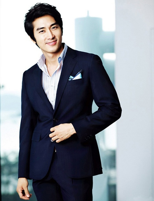 Hình tượng mĩ nam của Song Seung Hun (Ảnh: Internet)