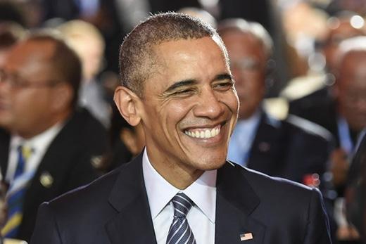 Chính trị gia duy nhất lọt vào danh sách này là Tổng thống nước Mỹ với tài khoản @BarackObama cùng 66,5 triệu người theo dõi.(Ảnh: Internet)