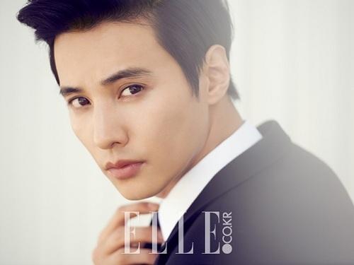 Gương mặt điển trai của Won Bin được xem là tượng đài vềnét đẹp nam tính và lịch lãm của showbiz Hàn. (Ảnh: Internet)