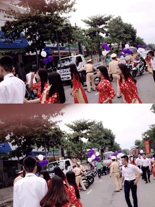 Sự việc tương tự xảy ra vào năm ngoái ở Nam Định. (Ảnh: Internet)
