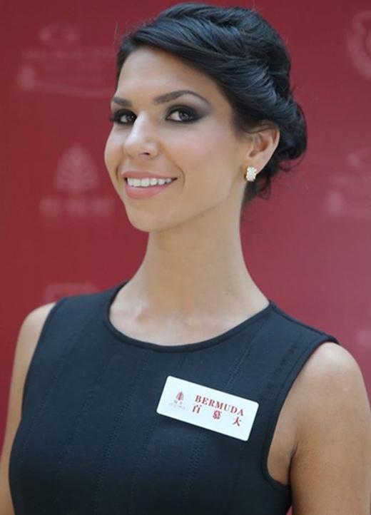 Người đẹp Bermuda, Alyssa Rose (Ảnh: Miss World)