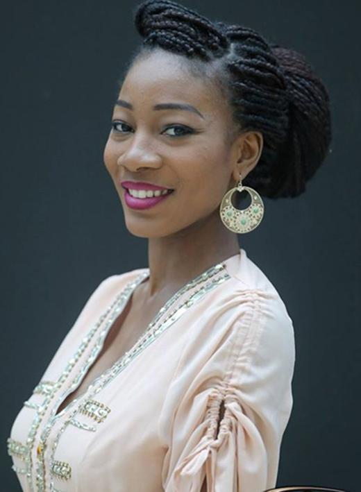 Hoa hậu Cameroon, Jessica Ngoua Nseme (Ảnh: Miss World)