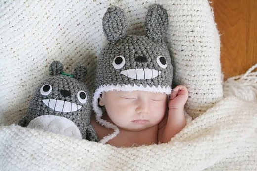 Totoro vui vẻ. (Ảnh: Internet)