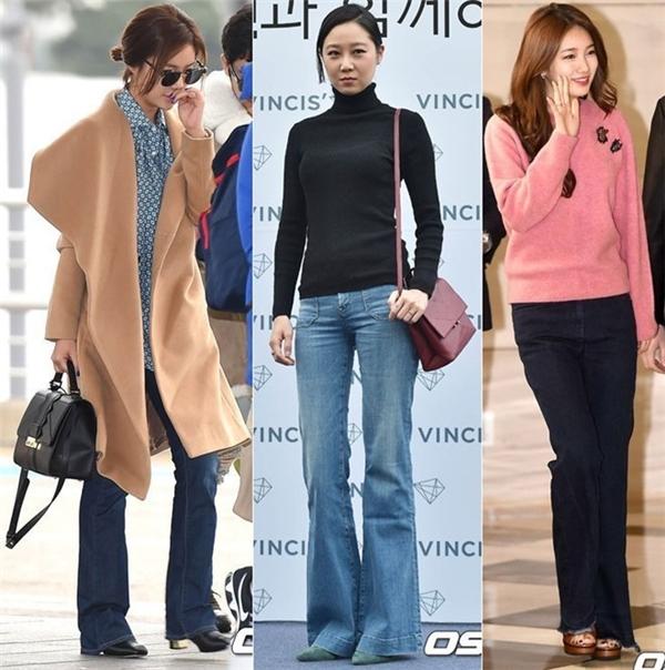 Phong cách retro thể hiện trong cả xu hướng thời trang hiện tại của Hàn Quốc.