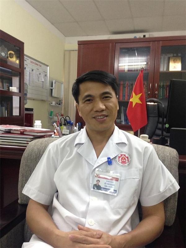 PGS.TS Lê Văn Đoàn, Viện trưởng Viện Chấn thương chỉnh hình, Bệnh viện Trung ương Quân đội 108. Ảnh: HQ