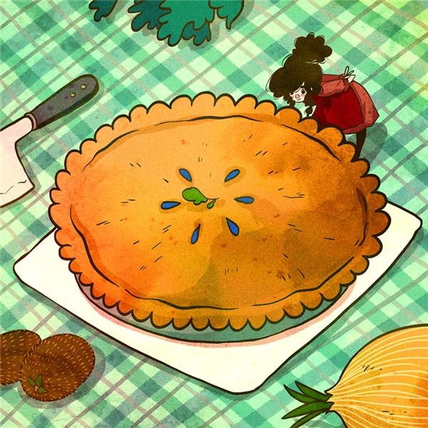 Và cả những chiếc bánh ngọt như thế này luôn là niềm hạnh phúc bất tận củacác cô gái.