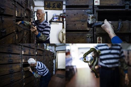 Ông Mak đã kinh doanh thịt rắn từ năm 15 tuổi. Ảnh: Internet