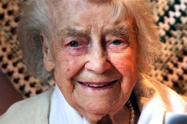Dù đã 101 tuổi, bà Hilda Jackson vẫn rất khỏe mạnh. (Ảnh: Internet)