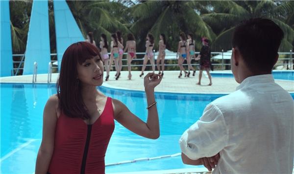 """Sự xuất hiện của """"nàng tưng"""" Diệu Nhi đóng vai trò khép lại trailer cùng giọng hát như """"cứa nát"""" tai của """"chuyên gia điều đào"""". - Tin sao Viet - Tin tuc sao Viet - Scandal sao Viet - Tin tuc cua Sao - Tin cua Sao"""