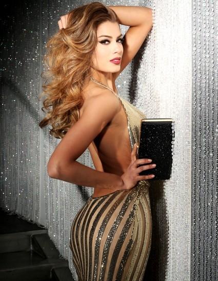 Ariadna Gutierrez Arévalo của Colombia là ứng cử viên số một cho vương miện hoa hậu. Cô sở hữu bức ảnh chân dung đẹp, hút ánh nhìn. - Tin sao Viet - Tin tuc sao Viet - Scandal sao Viet - Tin tuc cua Sao - Tin cua Sao