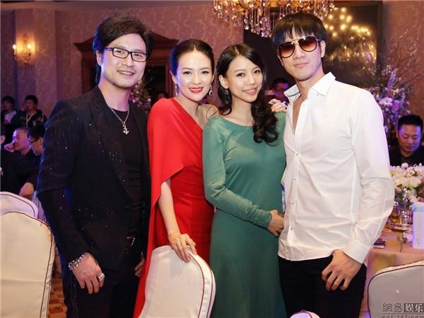 Uông Phong, Chương Tử Di và vợ chồng Vương Lực Hoành
