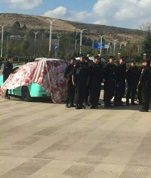 Chàng cảnh sát dẫn theo đội đặc nhiệm đi cầu hôn bạn gái