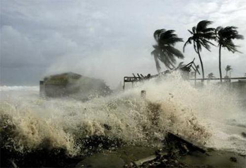 Đêm nay bãoMelor sẽ vào biển Đông. (Ảnh: Internet)