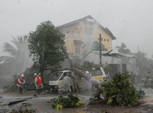 Mọi người nên có phương án đề phòng cơn bão có sức gió kinh hoàng này. (Ảnh: Internet)