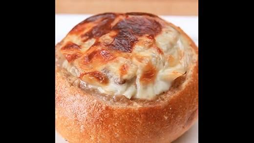 Bánh mì um thịt bò phô mai cực ngon