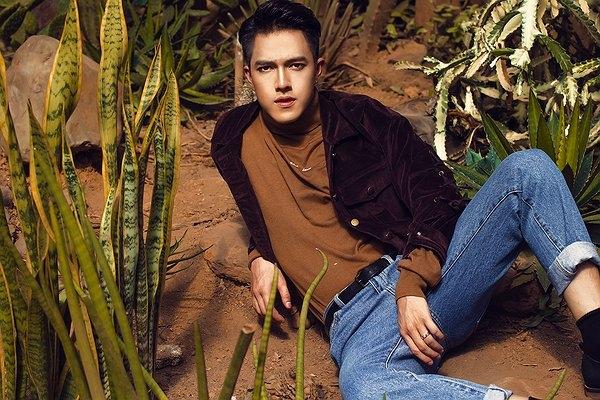 Minh Châu trong một bộ ảnh thời trang. (Ảnh: Internet)