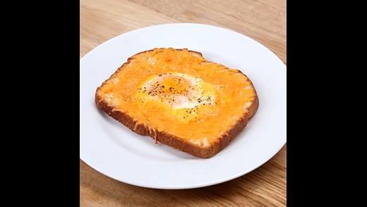 Bánh mì trứng phiên bản mới cực hấp dẫn