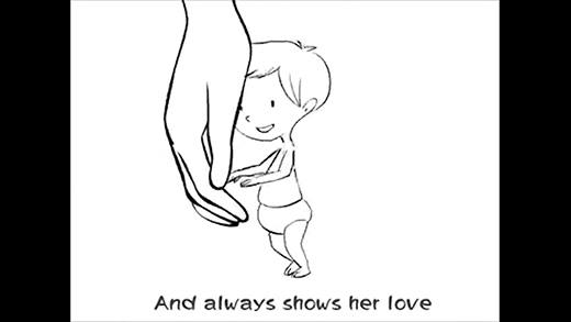 Đoạn clip cực dễ thương sẽ khiến bạn muốn ôm lấy mẹ ngay lập tức