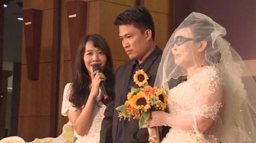 Nhờ chương trình Điều ước thứ 7 đã giúp họ có một đám cưới như mơ. (Ảnh: Internet)