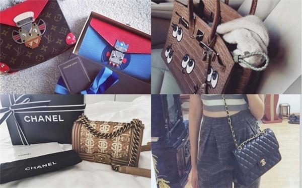 Hà Lade sở hữu những món đồ hàng hiệu và phong cách thời trang cực chất. (Ảnh: Internet)