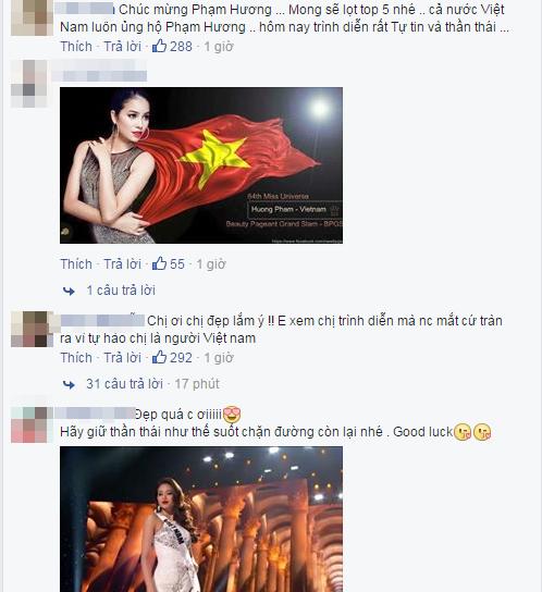 Phạm Hương khoe tự trang điểm trong đêm bán kết khiến fan ngưỡng mộ - Tin sao Viet - Tin tuc sao Viet - Scandal sao Viet - Tin tuc cua Sao - Tin cua Sao