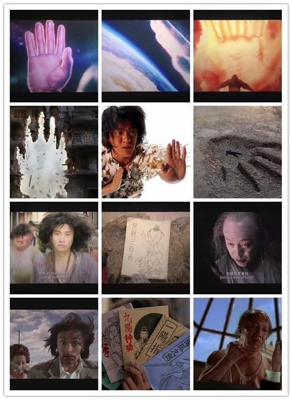 Những cảnh hành động quen thuộc trong các phim của Châu Tinh Trì.