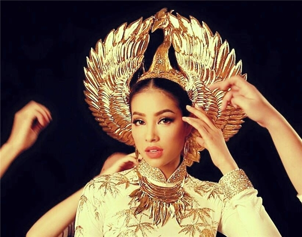 Phạm Hương đang đem lại niềm tự hào cho người Việt Nam trên đấu trường hoa hậu quốc tế. (Ảnh: Internet)