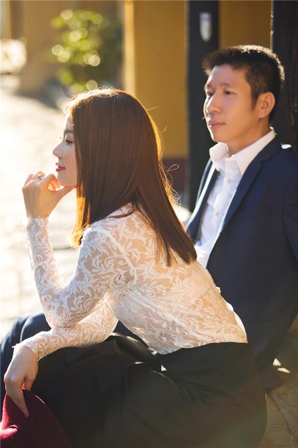 Khoe ảnh cưới siêu lãng mạn, Diễm Trang lần đầu hé lộ chồng đại gia - Tin sao Viet - Tin tuc sao Viet - Scandal sao Viet - Tin tuc cua Sao - Tin cua Sao