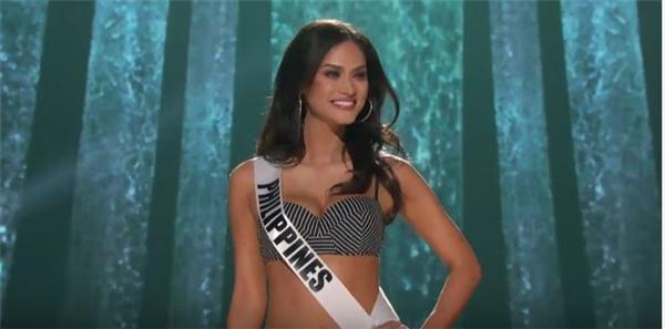 Đại diện Philippines Pia cũng nhận được không ít tràng pháo tay, reo hò của khán giả. Cô là một trong 4 gương mặt sáng giá nhất khu vực châu Á. - Tin sao Viet - Tin tuc sao Viet - Scandal sao Viet - Tin tuc cua Sao - Tin cua Sao