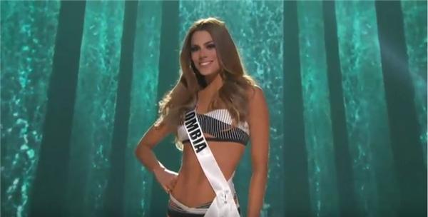 Thí sinh của Colombia có nét đẹp hiện đại, quyến rũ khá giống với đương kim Hoa hậu Hoàn vũ Paulina Vega. - Tin sao Viet - Tin tuc sao Viet - Scandal sao Viet - Tin tuc cua Sao - Tin cua Sao