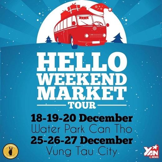 Giới trẻ Cần Thơ háo hức chờ đón sự trở lại của Hello Weekend Market
