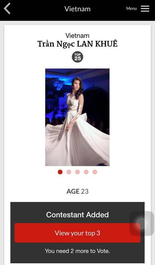 Fan hết lời khen ngợi Lan Khuê với dự án từ thiện tại Miss World 2015 - Tin sao Viet - Tin tuc sao Viet - Scandal sao Viet - Tin tuc cua Sao - Tin cua Sao