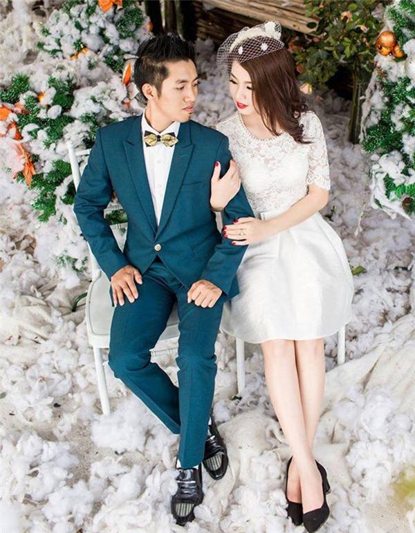 Ngoài bộ ảnh với ý tưởng khác lạ, cặp đôi cũng có những bức ảnh cưới nhẹ nhàng và rất dễ thương.(Ảnh: Internet)
