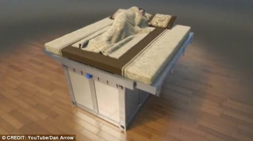Chiếc giường đang không ngừng được cải tiến. (Ảnh: Dan Arrow)