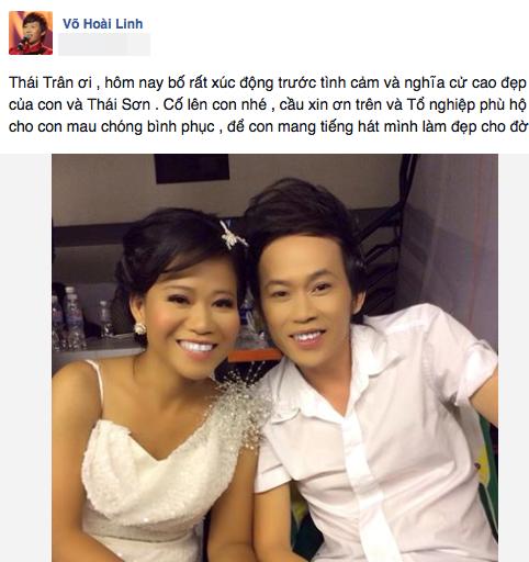Hình ảnh thân thiết củaHoài Linhvà con gái Thái Trân được danh hài chia sẻ trên mạng xã hội. - Tin sao Viet - Tin tuc sao Viet - Scandal sao Viet - Tin tuc cua Sao - Tin cua Sao