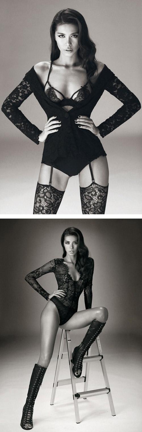 Mẫu nữ 9X thường xuyên thực hiện những shoot hình sexy với trang phục nội y, bikini khoe thân hình cân đối, khỏe khoắn. - Tin sao Viet - Tin tuc sao Viet - Scandal sao Viet - Tin tuc cua Sao - Tin cua Sao