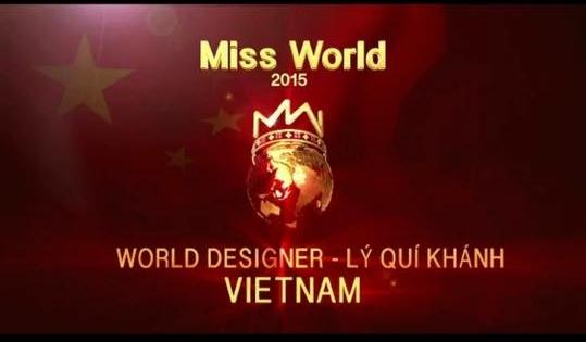 Đại diện đến từ Việt Nam đã xuất sắc có trong tay hạng mục giải thưởng đầu tiên của Hoa hậu Thế giới 2015. - Tin sao Viet - Tin tuc sao Viet - Scandal sao Viet - Tin tuc cua Sao - Tin cua Sao