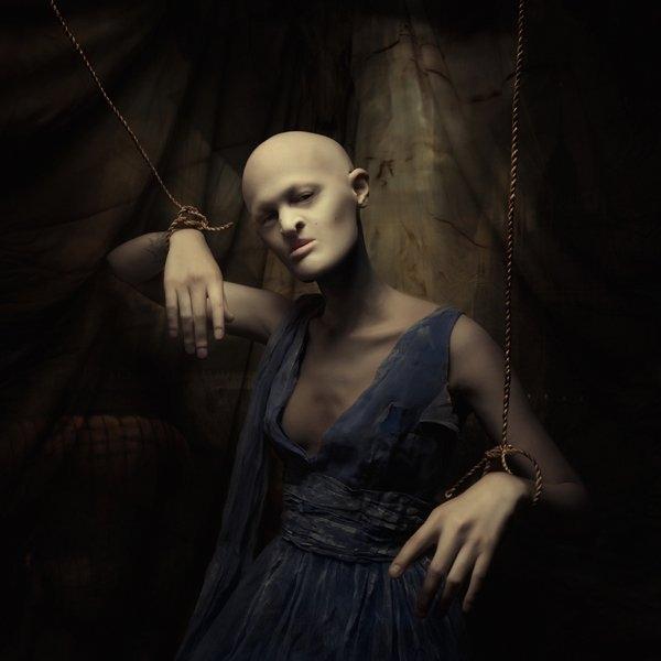 Melanie Gaydos là người mẫu có tạo hình khá đặc biệt. (Ảnh: Internet)