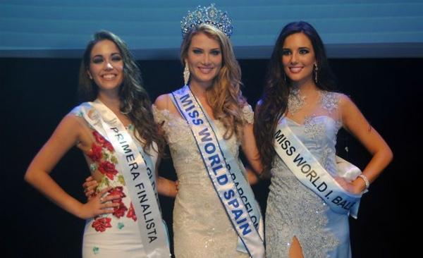 Mireia Lalaruna Royo đăng quang Miss World Tây Ban Nha.