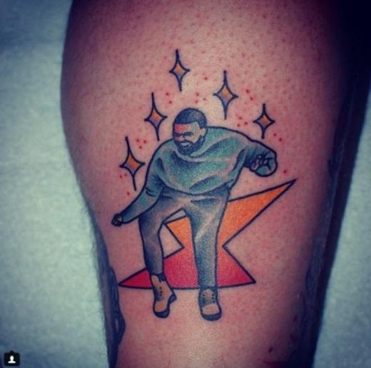 Năm2015 chắc chắc không thể thiếu điệu nhảy đầy cảm hứng của Drake trong Hot Bling.(Ảnh: Buzzfeed)