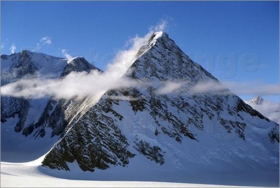 Kiến trúc có hình dạng giống kim tự tháp ở Nam Cực