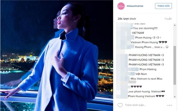 Các bài đăng về người đẹp trên tài khoản Facebook, Instagram chính thức của Miss Universe luôn đạt lượng tương tác kỉ lục - Tin sao Viet - Tin tuc sao Viet - Scandal sao Viet - Tin tuc cua Sao - Tin cua Sao