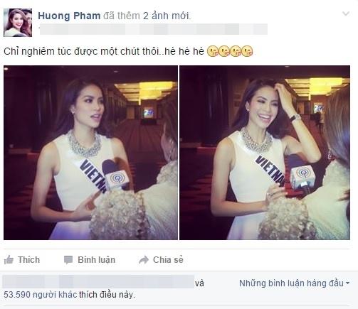 Những bức ảnh được yêu thích nhất của Phạm Hương tại Miss Universe - Tin sao Viet - Tin tuc sao Viet - Scandal sao Viet - Tin tuc cua Sao - Tin cua Sao