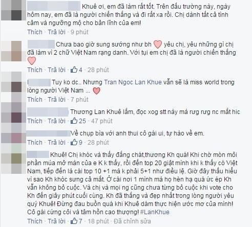 Lan Khuê khóc cạn nước mắt khi bị đối xử bất công tại Miss World - Tin sao Viet - Tin tuc sao Viet - Scandal sao Viet - Tin tuc cua Sao - Tin cua Sao
