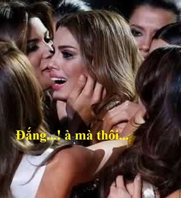 Té ngửa trước loạt ảnh chế hài hước về sự cố của Miss Universe 2015
