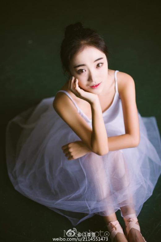 Vẻ đẹp hoàn hảo không góc chết(Ảnh: weibo.com)