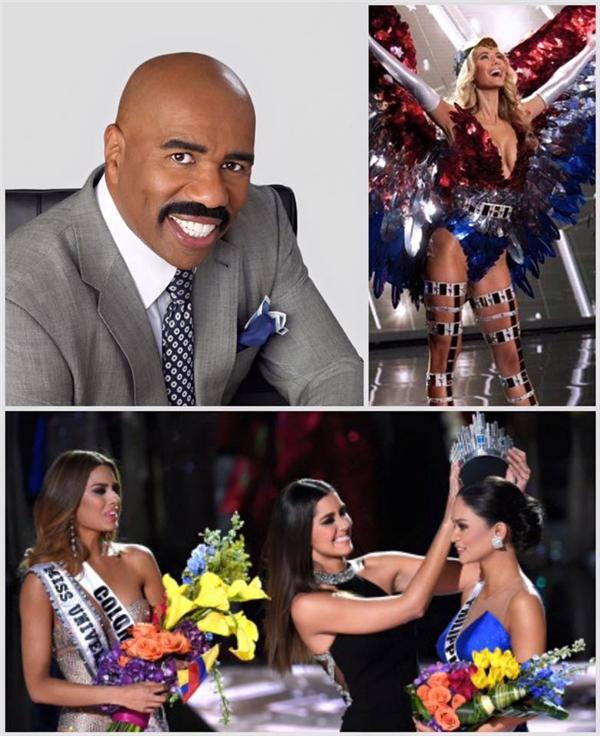 """Khoảnh khắc """"đáng thương"""" nhất của Miss Universe 2015. - Tin sao Viet - Tin tuc sao Viet - Scandal sao Viet - Tin tuc cua Sao - Tin cua Sao"""