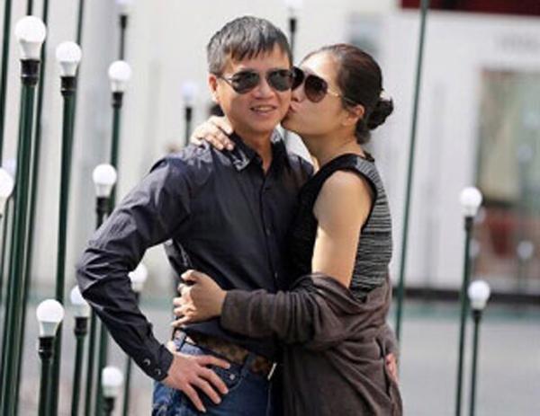 Vợ chồng anh Lê Ngọc Sơn và chị Đào Lưu Nhân Văn. (Ảnh: Internet)