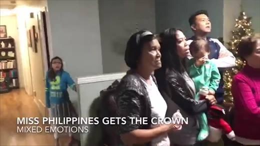 Phản ứng của gia đình hoa hậu Philippines trước sự cố trao giải