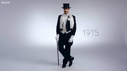 Cánh mày râu diện gì đón năm mới 100 năm qua?